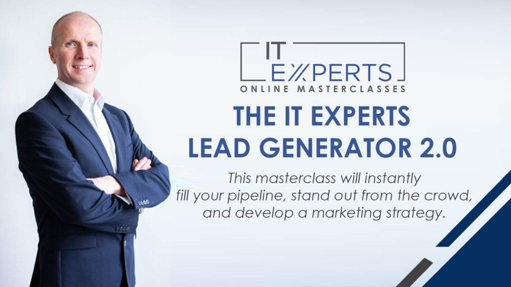 ITE MAsterclass Lead Generator 2.0 1