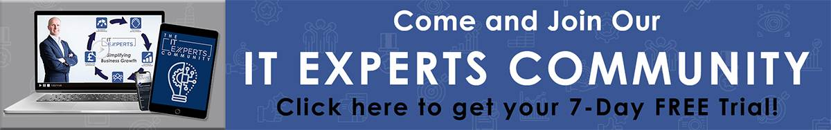 IT Experts Community Banner