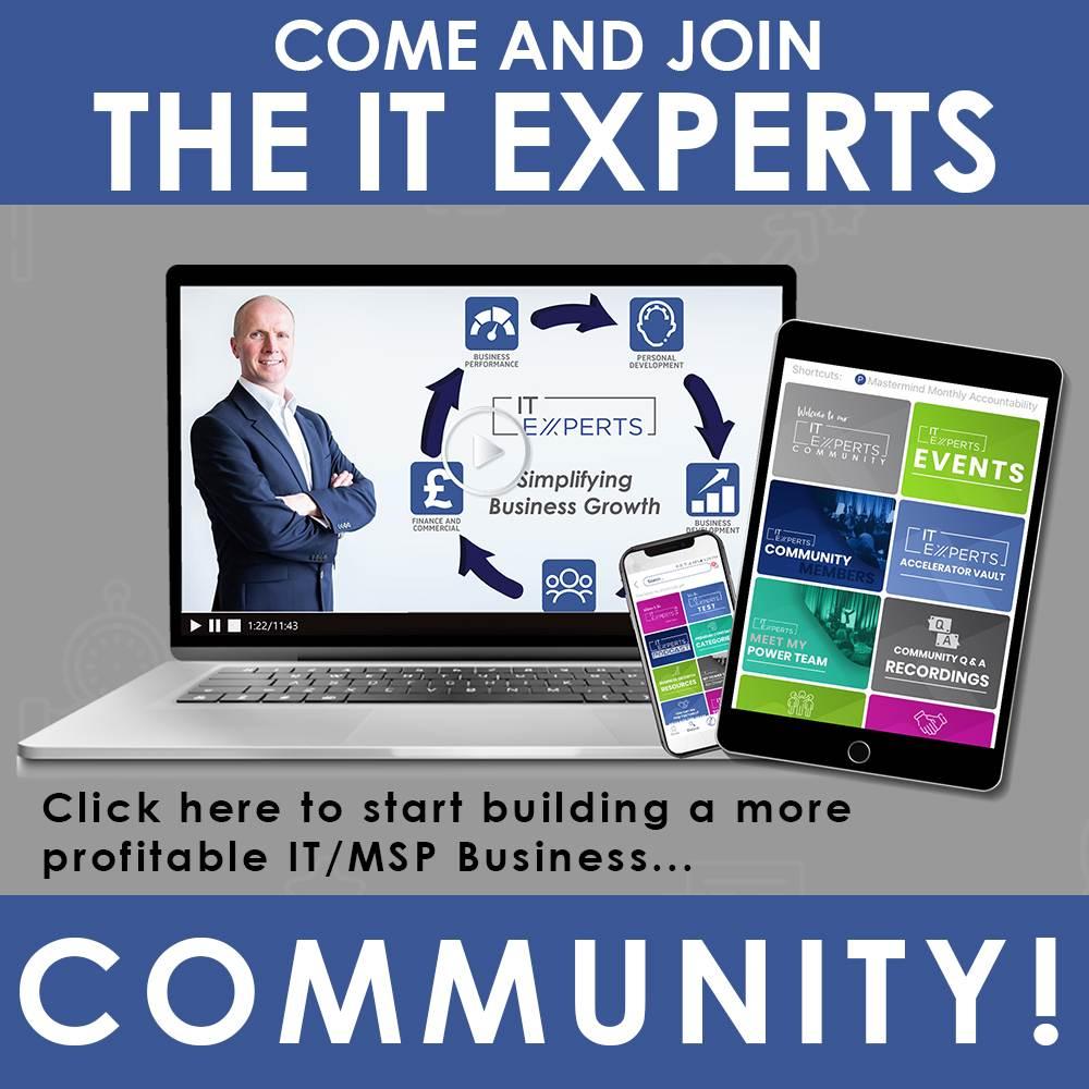 IT Experts Community - Ian Luckett
