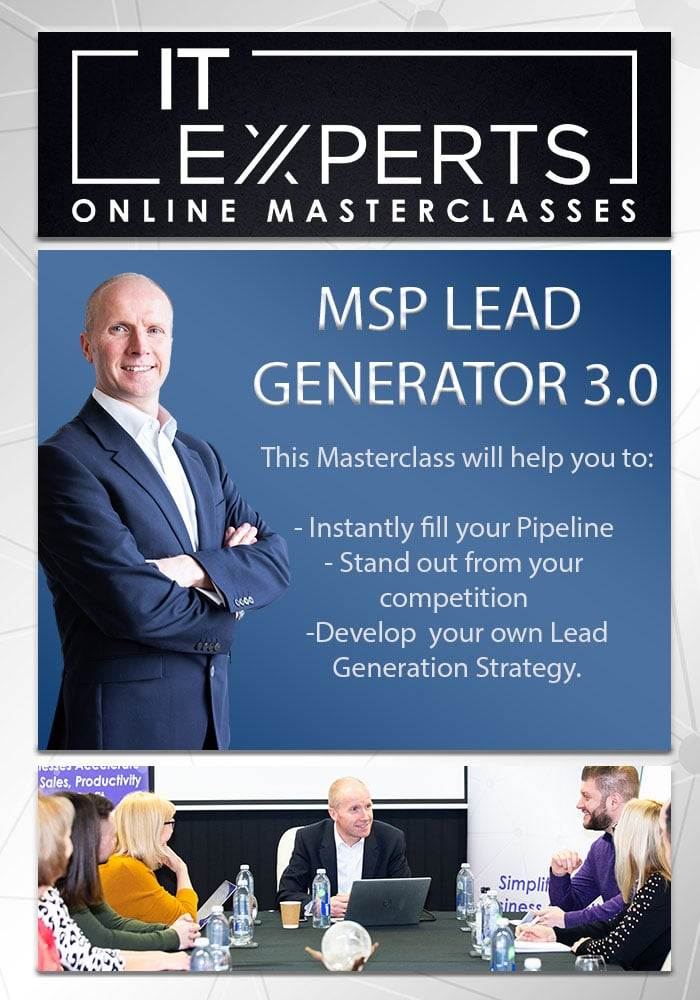 IT Experts Lead Generator V3.0 Masterclass